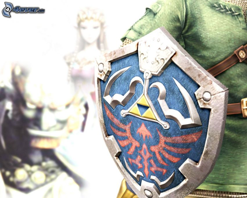 The Legend of Zelda, sköld