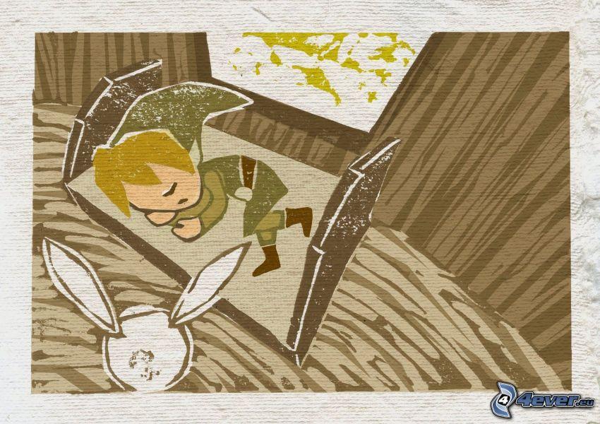 The Legend of Zelda, sömn