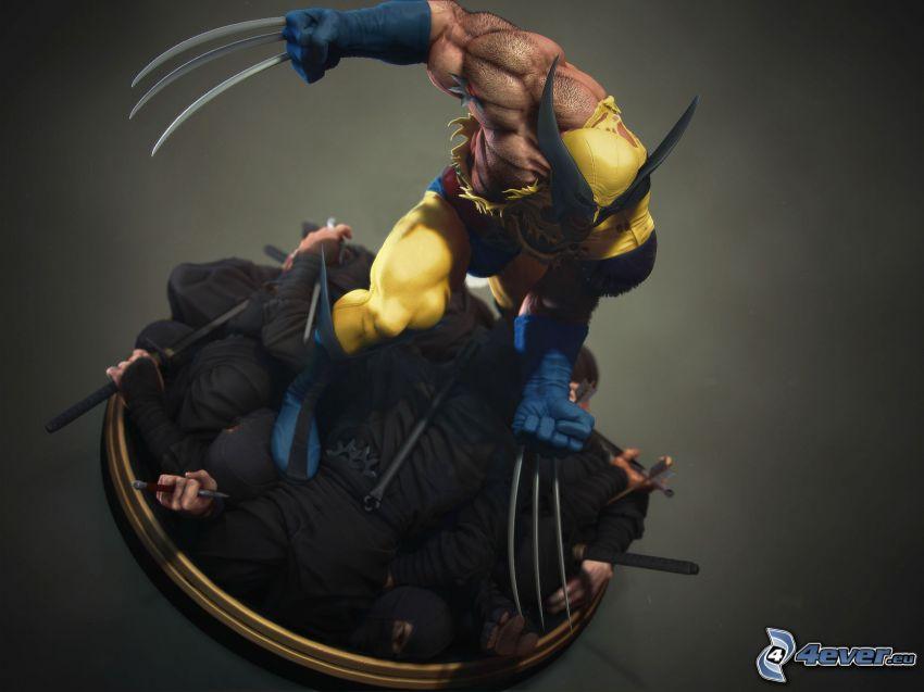 Wolverine, ninja