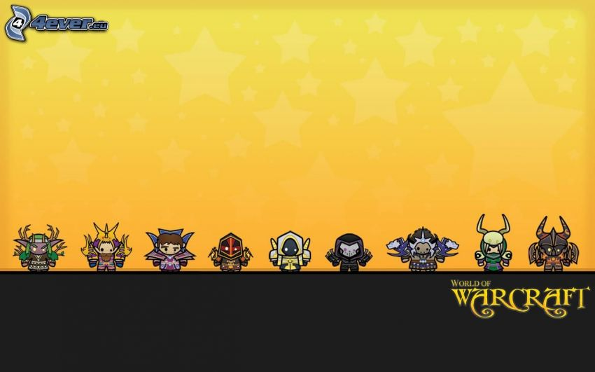 World of Warcraft, seriefigurer