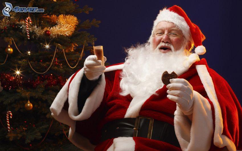 Santa Claus, julgran
