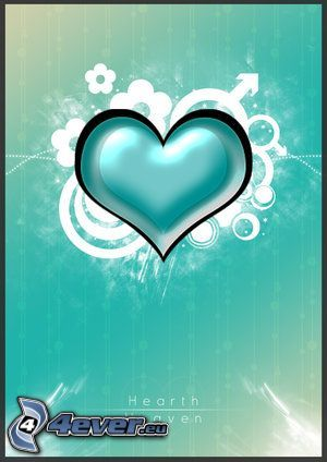 grönt hjärta, kärlek