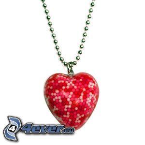 hänge med hjärta