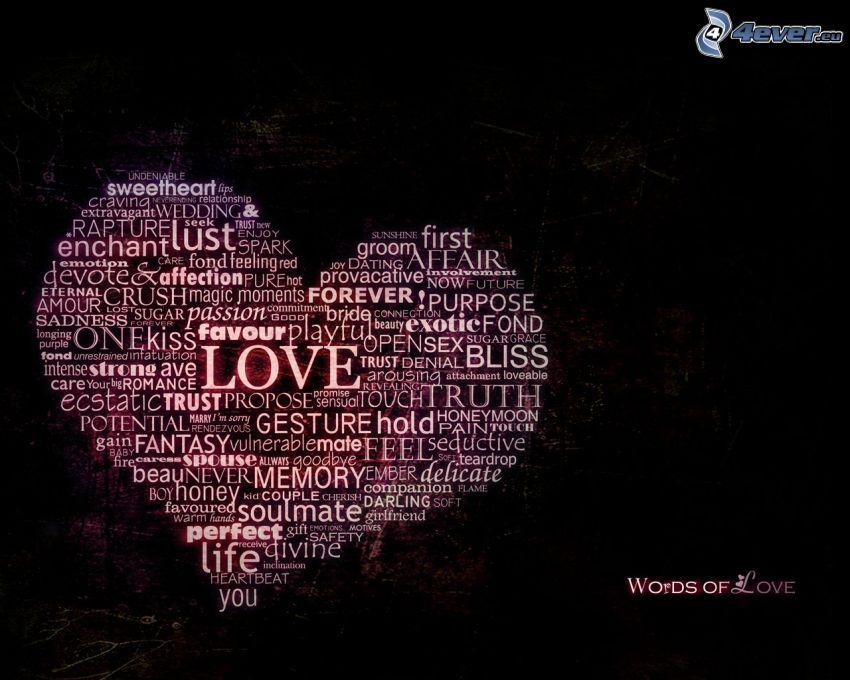 hjärta, love