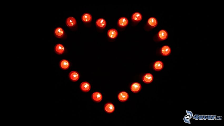hjärta av ljus