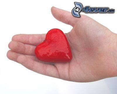 hjärta i händerna