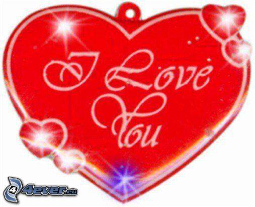 Jag älskar dig, hjärta
