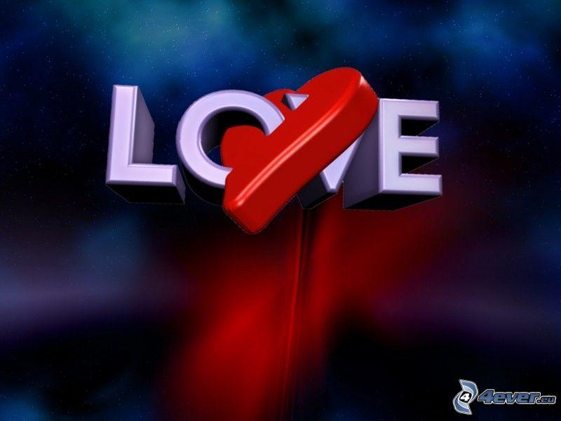 kärlek, love, hjärta