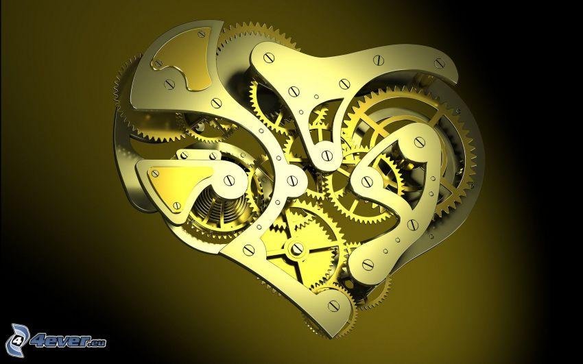 mekaniskt hjärta