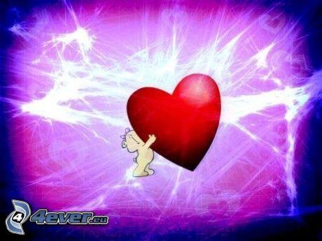 nalle med hjärta