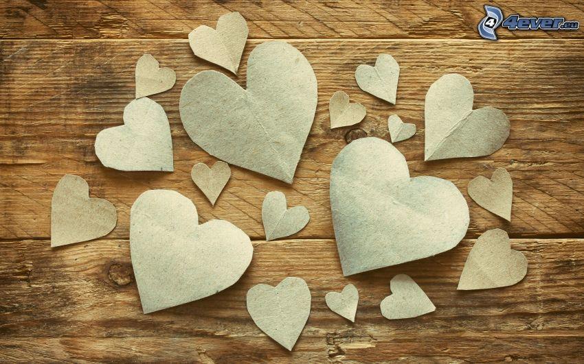 pappershjärta
