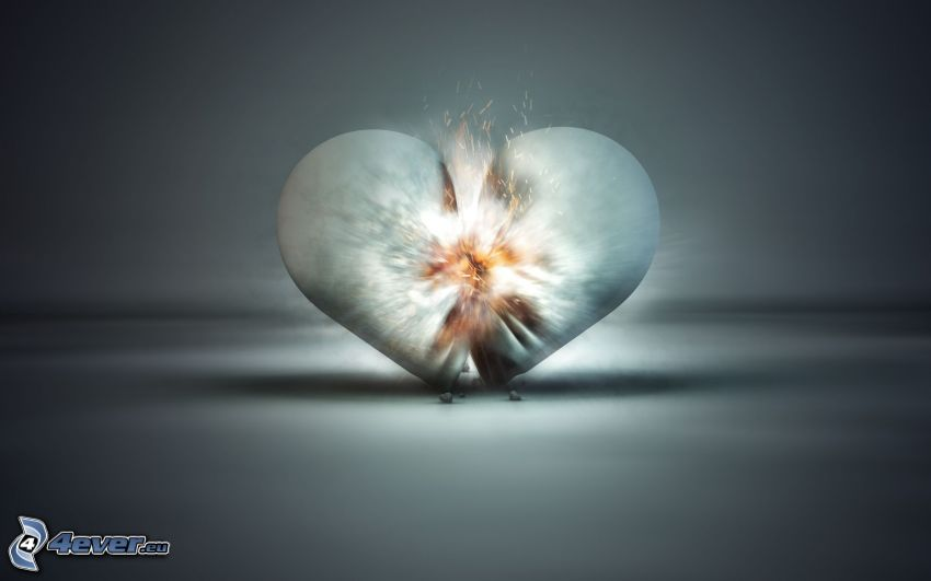 trasigt hjärta