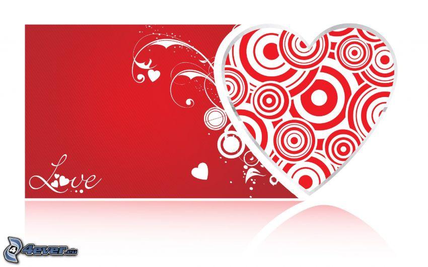 valentine hjärta