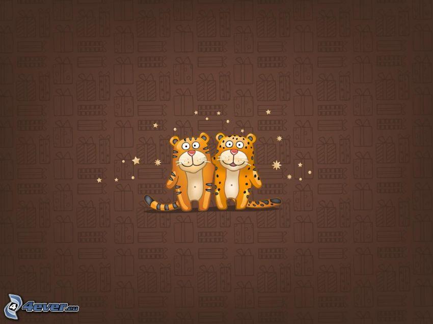 kära katter, tigrar