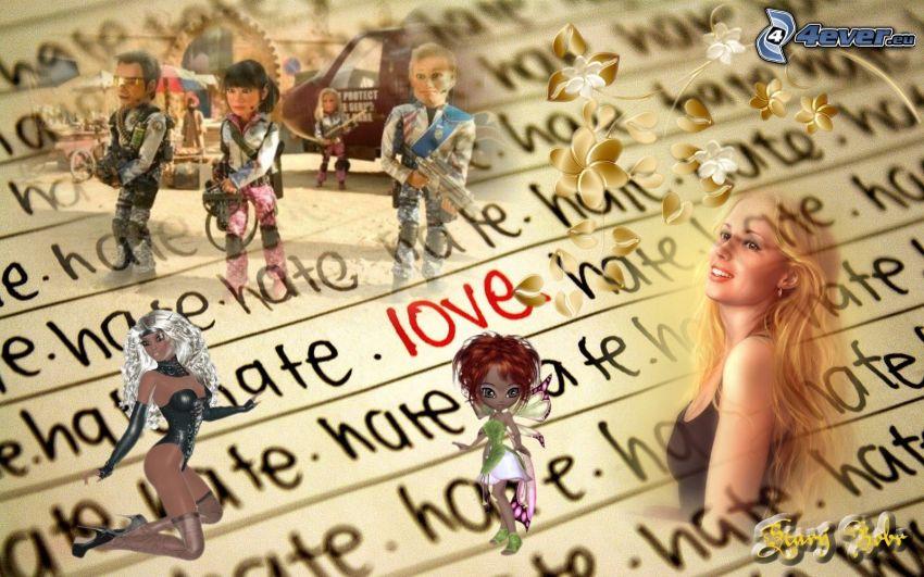 love, hate