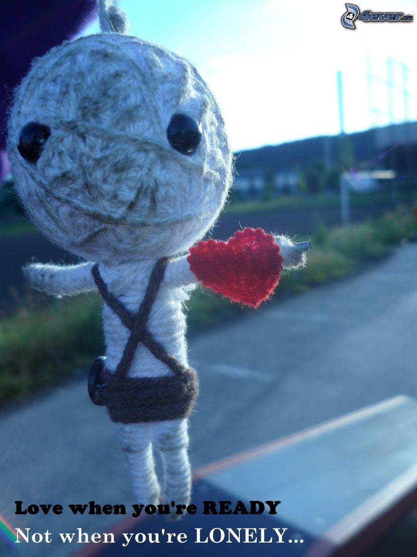 love, voodoofigur
