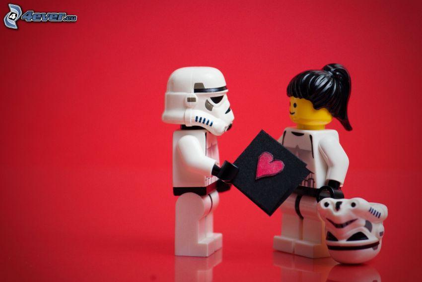 figurer, Lego, Stormtrooper
