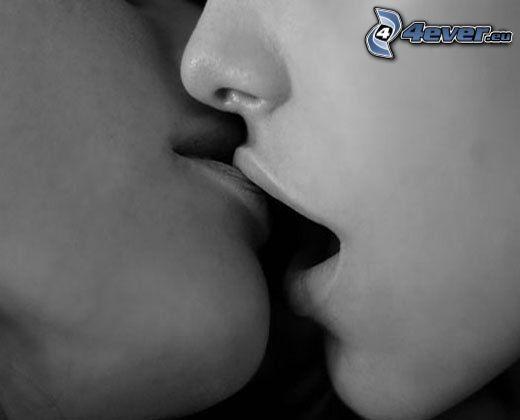 kyss, läppar