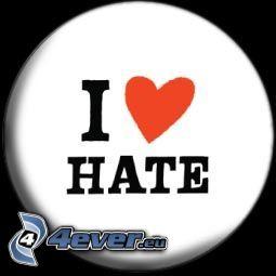 hat, hate, hjärta
