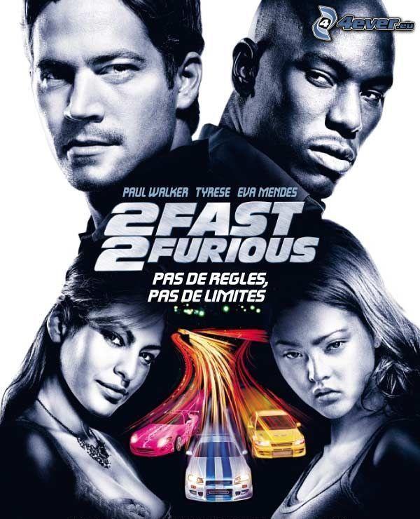 2 Fast 2 Furious, Paul Walker, Tyrese Gibson, Eva Mendes