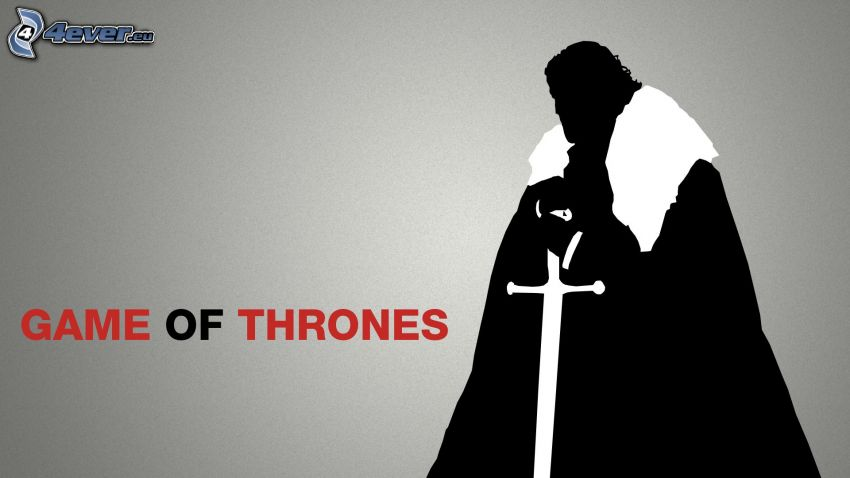 A Game of Thrones, silhuett