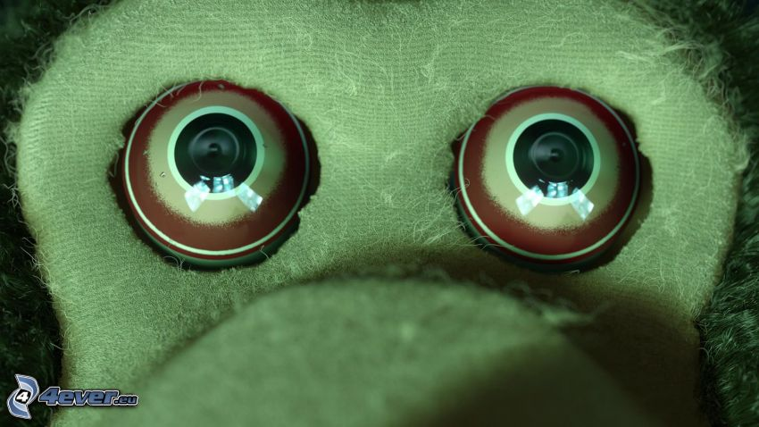 apa, ögon, Toy Story 3