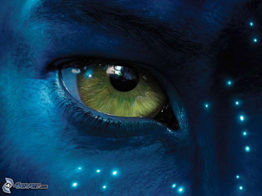 Avatar, öga
