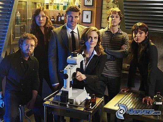 Bones, skådespelare, TV-serie