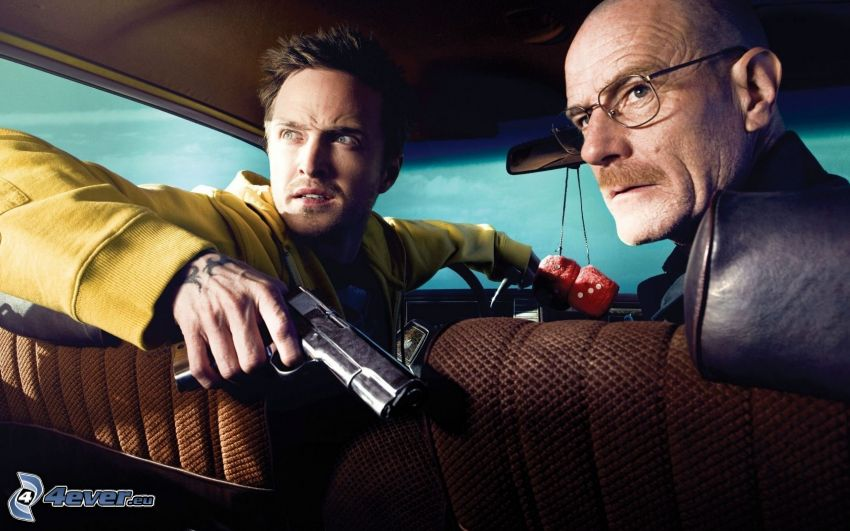 Breaking Bad, man med vapen