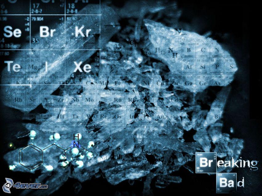 Breaking Bad, tabell över kemiska grundämnen