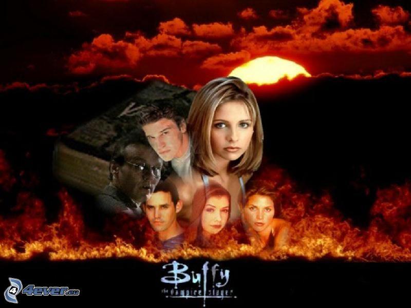 Buffy - the Vampire Slayer, Buffy, vampyr, TV-serie
