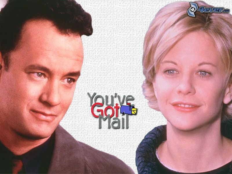 Du har mail, Meg Ryan, Tom Hanks