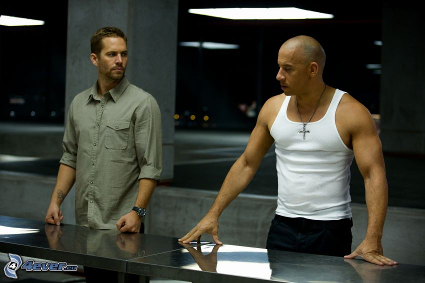 Fast and Furious, Vin Diesel, Paul Walker
