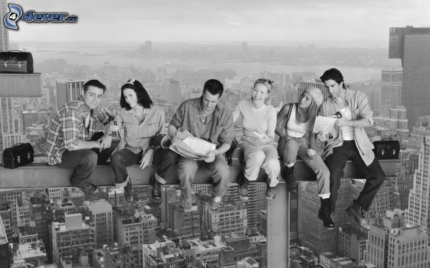 Friends, utsikt, parodi
