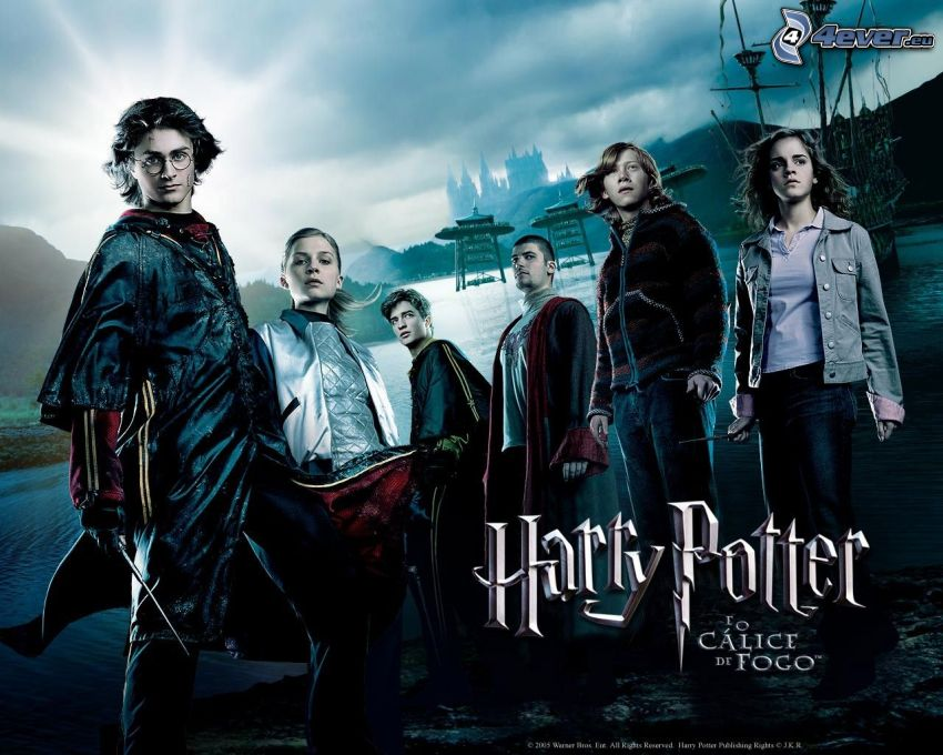 Harry Potter och den flammande bägaren, film, affisch