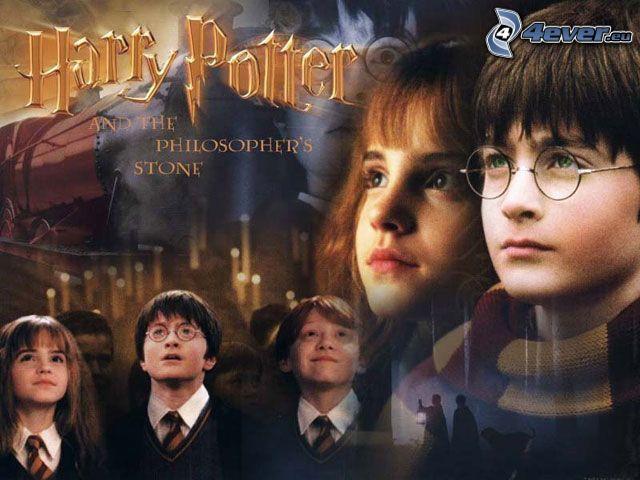Harry Potter och den vises sten, film, saga