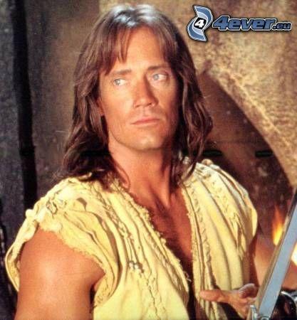 Hercules, kämpare, svärd