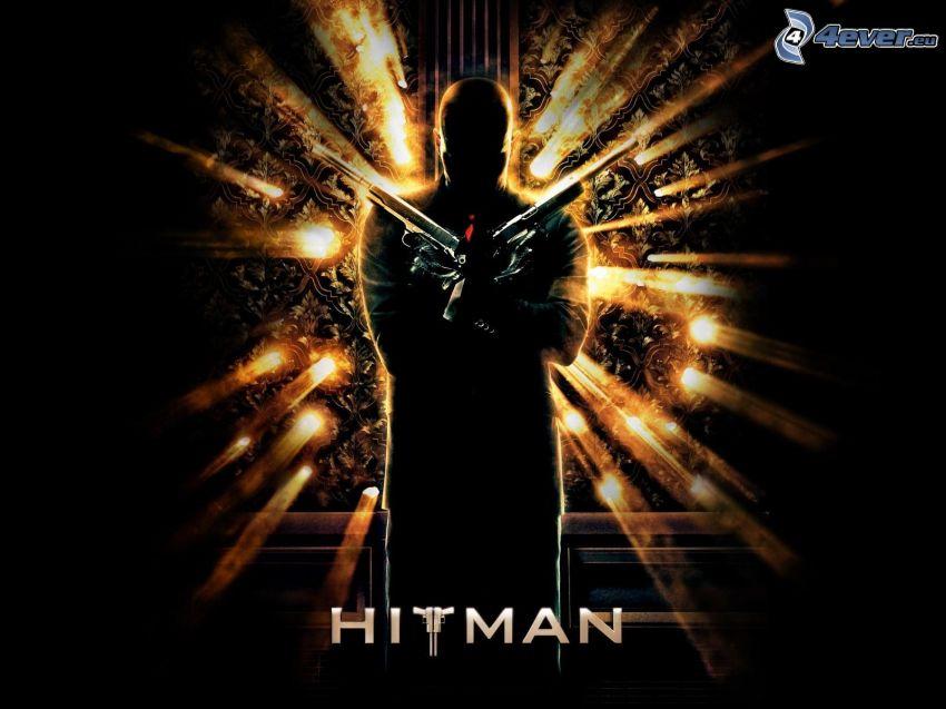Hitman, man med vapen