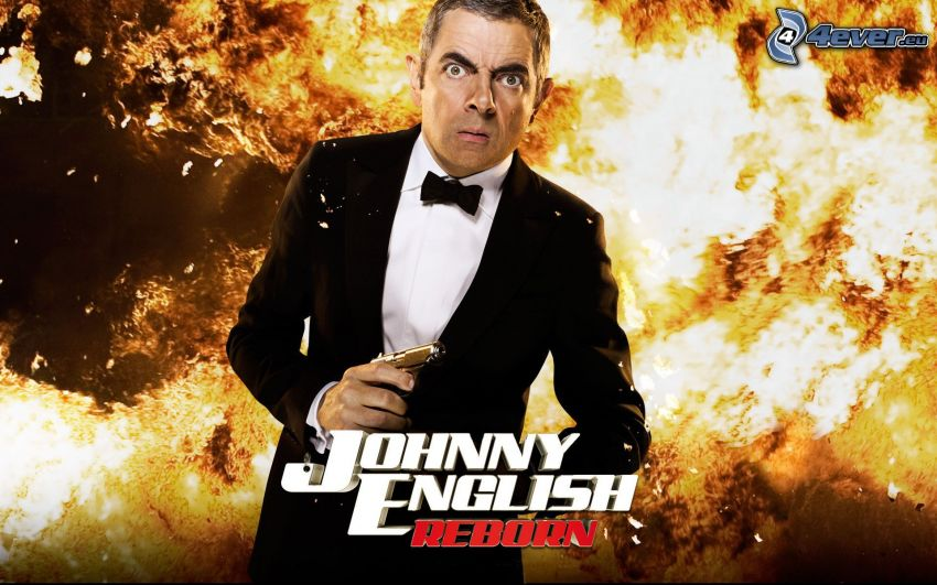 Johnny English, Rowan Atkinson