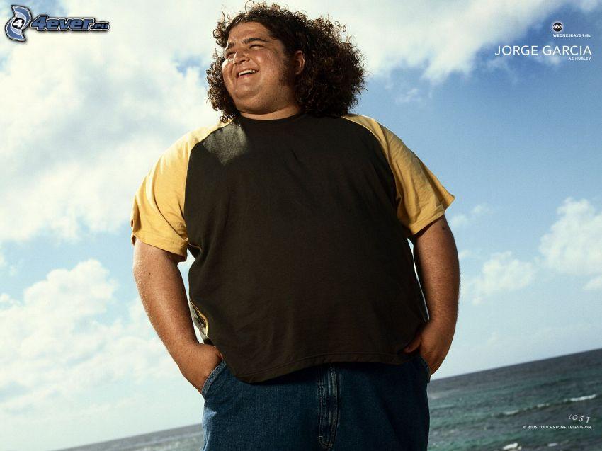 Jorge Garcia, Lost, tjockis