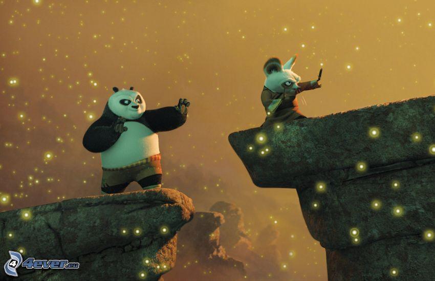 Kung Fu Panda, Panda Po, Mr. Shifu