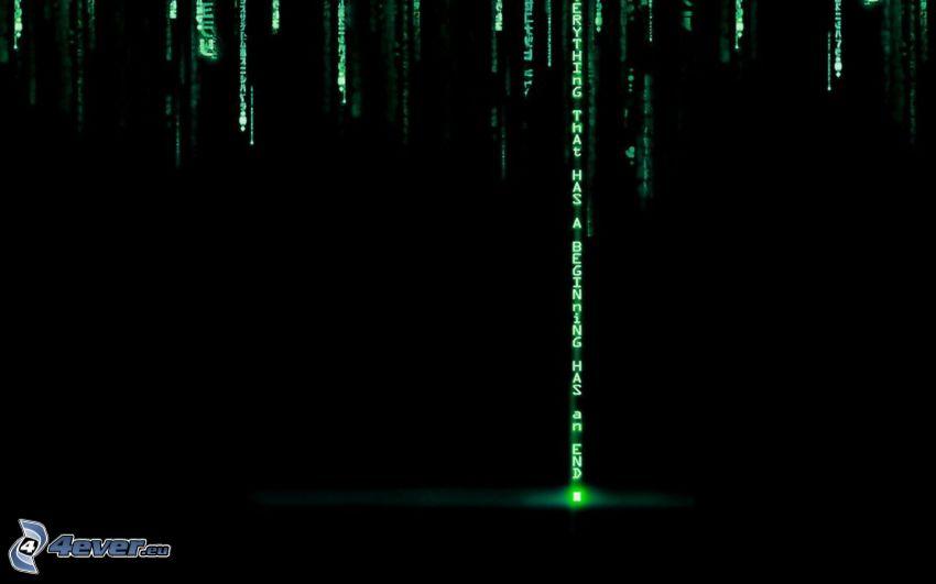 Matrix, binär kod