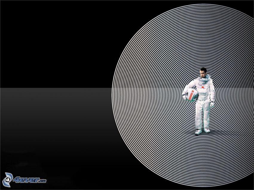 Moon, astronaut