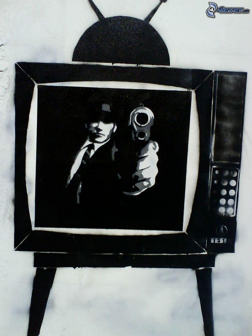 mördare, TV