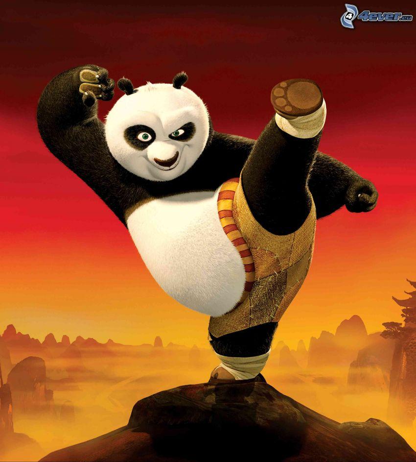 Panda Po, Kung Fu Panda