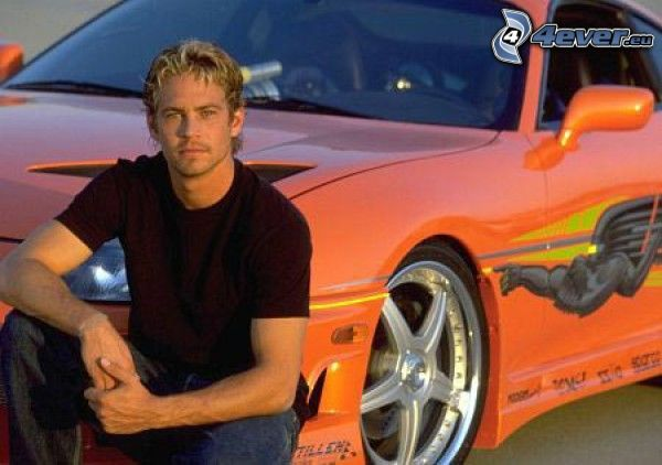 Paul Walker, Fast and Furious, The Fast and the Furious