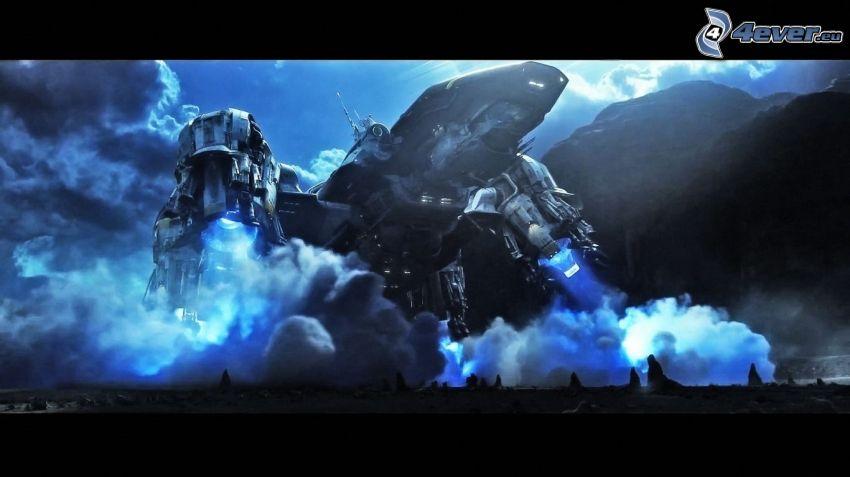 Prometheus, rymdskepp