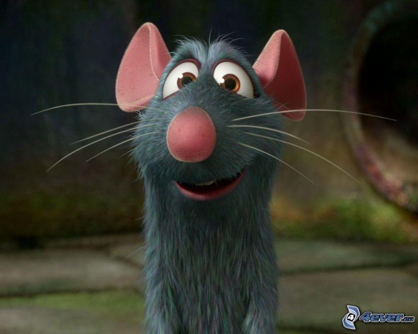 Ratatouille, råtta