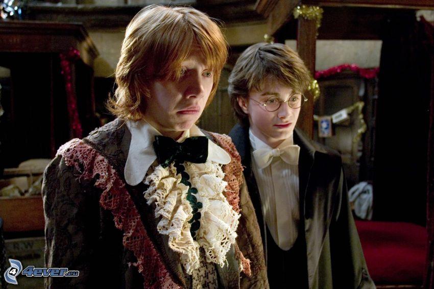 Ron Weasley, Harry Potter