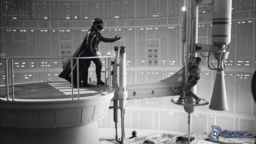 Star Wars, Darth Vader, bakom kulisserna, inspelning